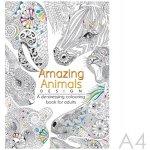 Antistresové omaľovánky pre dospelých Úžasné zvieratá