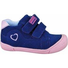 Protetika Dievčenské topánky Florea modré c47be19ca5