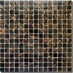 MOSAGRES MSG38 Mozaika sklo Goldstar 327x327x4mm černá
