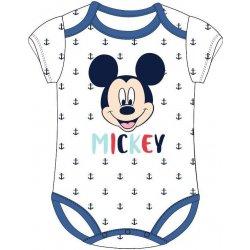 d87f5826a E plus M Detské body Mickey Mouse s kotvami biele alternatívy ...