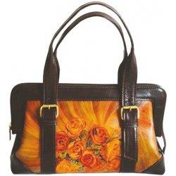 f9d6f89e1b21 ručne maľovaná kabelka 8220 s motívom ruží od 390