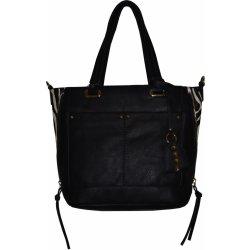 Bestini velmi stylová kabelka čierna