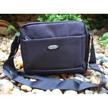 MAHEL pánska taška čierna crossbody priečinky 6423304bcf0