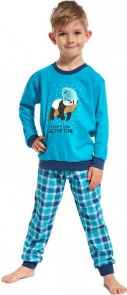 590a448d62f3 Pyžamko a košieľka Detské pyžamo s patentom Panda v čiapočke ...