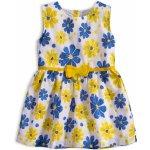 3ffcc94a4b Dievčenské letné šaty KNOT SO BAD KVETY žlté