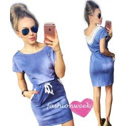 41d7e6deec0b Moderné letné šaty denim lace s čipkou AW020 alternatívy - Heureka.sk
