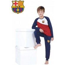 Chlapčenské bavlnené pyžamo FC BARCELONA BC03191