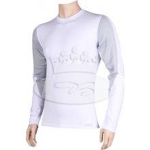 VoXX Funkčné tričko Solid 01 bielo-šedá