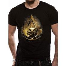 Assassins Creed Origins Gold Hieroglyphs T Shirt