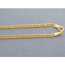 074448b8e MARM Design Zlatá retiazka žlté zlato dvojité očká VR50319Z 14 karátov  585/1000 3.19g