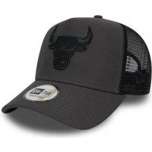 793cb6672 New Era 9Forty NBA A Frame Trucker Diamond Era Chicago Bulls Grey