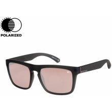 QuikSilver The Ferris rubberized crystal smoke pink HD Polarized Silver 18 eb535472c70