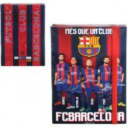 6490bfaf32 FC Barcelona dosky na zošity A4 Players od 5