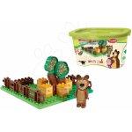 PlayBIG Bloxx Máša a medveď v záhradke