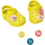 Zapf Creation BABY born Gumové sandálky crocsy