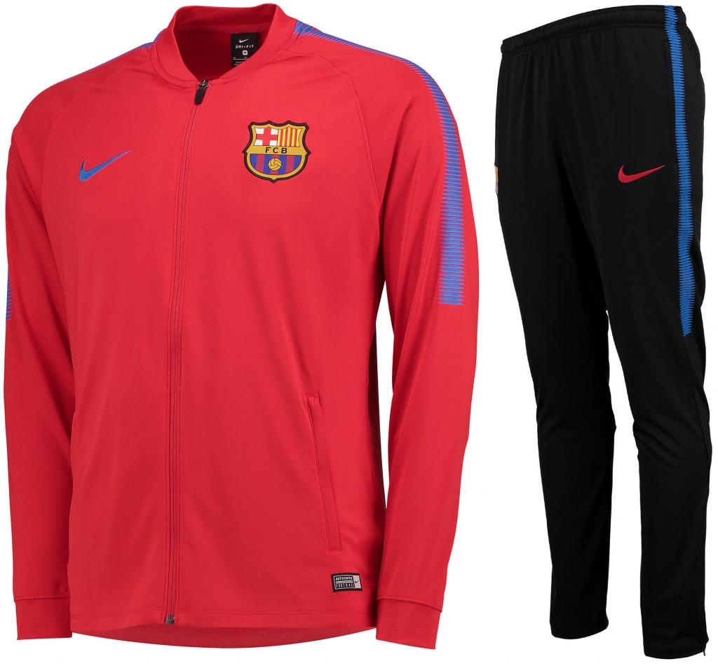f09837d70fc6d Futbalový dres Nike FC Barcelona súprava pánska bunda nohavice ...