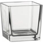 Sandra Rich váza kocka 9,5cm sklo - Sandra Rich