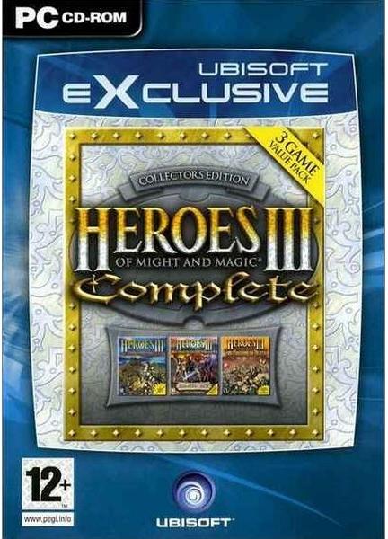 На буржуйских прилавках появилось очередное переиздание Heroes III Complete