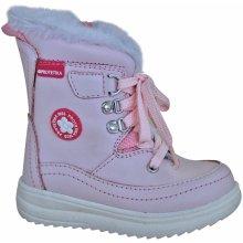 9a69d6632e Protetika Dievčenské zimné topánky Bory svetlo ružové
