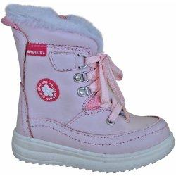 2fe7cb96ee Protetika Dievčenské zimné topánky Bory svetlo ružové od 29