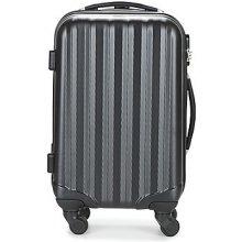 David Jones Pevné cestovné kufre CHAUVETTA 36L čierna
