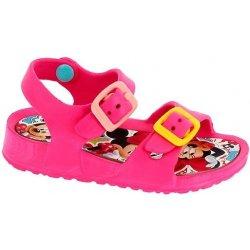 64a4350a7cd9 Disney by Arnetta Dievčenské gumové sandále Minnie ružové ...
