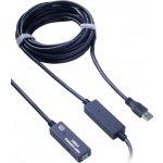 PremiumCord ku3rep10 USB 3.0 repeater a prodlužovací A/M-A/F, 10m