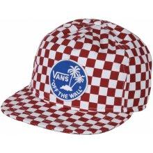Vans Doren Snapback Cap Red/White