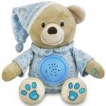 BABY MIX Plyšový medvedík s projektorom ružový
