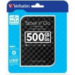 VERBATIM Store 'n' Go 500GB, USB 3.0, 53193