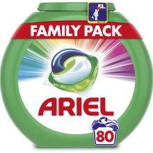 Ariel Color 3v1 gélové kapsuly 80 ks