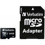 Verbatim microSDXC 64GB UHS-I U1 DF-44084