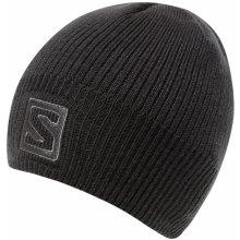 ee5b55b50 Salomon Logo Beanie black 366850 unisex pletená