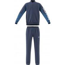 Adidas Chlapčenská tepláková súprava modrá e6d4bb05d86