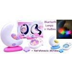 abe97ea5a JOKO Detská Nočná lampa s hudbou + bluetooth + naťahovacia hracia skrinka,  ružová