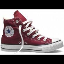 Converse Unisex stylové kotníkové boty Chuck Taylor All Star Seasonal Vínové M9613