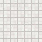 Rako Mozaika Boa biela 30x30 cm, mat, rektifikovaná FINEZA51752