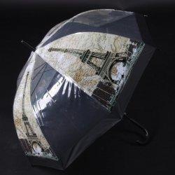 c56066312 Automatický priehľadný dáždnik Zoja čierny od 8,61 € - Heureka.sk