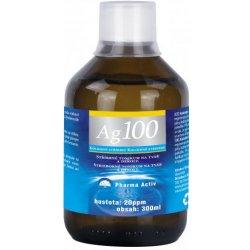 684d82355 Pridať odbornú recenziu Pharma Activ Koloidné striebro Ag 100 20 ppm 300 ml  - Heureka.sk