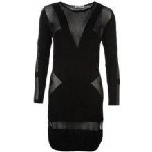 Noisy May - Meadow Long Sleeve Dress – Black