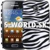 Zadný kryt Samsung Galaxy Ace 2 - Zebra čierna