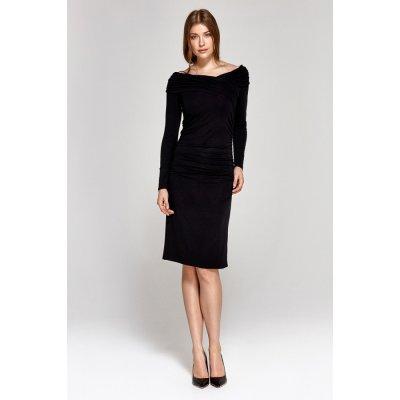 Colett koktejlové šaty 118853 čierny