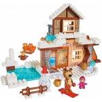 PlayBIG Bloxx Máša a medvěd Míšův zimní dům