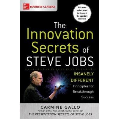 Innovation Secrets of Steve Jobs: Insanely Different Principles for Breakthrough Success Gallo Carmine