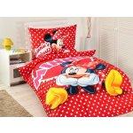 Jerry Fabrics obliečky Minnie hearts 2015 140x200 70x90
