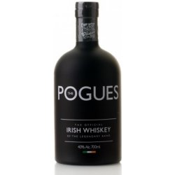 421bd32af Recenzie The Pogues The Official Irish Whisky of The Legendary Band 0,7 l -  Heureka.sk