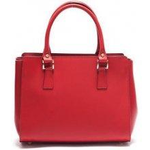 Mangotti kožená kabelka 3040 Rosso