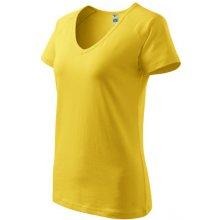 4b2d9c0ccda ADLER MALFINI DREAM dámske tričko s krátkym rukávom Žltá