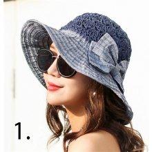 3f3019d41 Elegantný dámsky slamený klobúk bežová