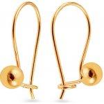 iZlato Design zlaté dievčenské náušnice guličky IZ5471 cc13b24e87b